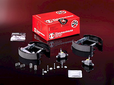 Mounted Brake Shoe Kit Z