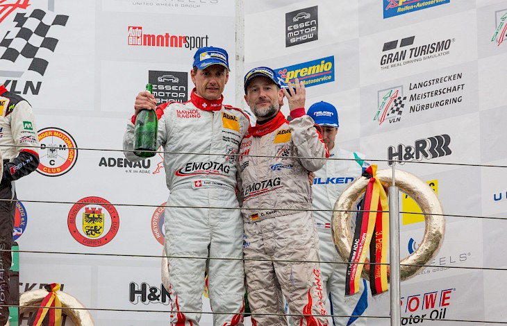 VLN2: Zimmermann Porsche won its first race
