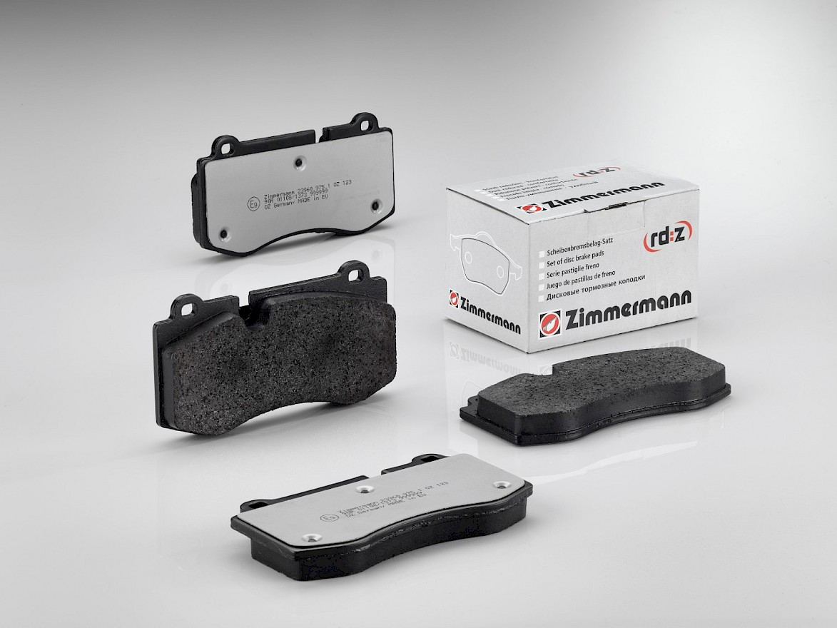 rd:z Brake Pads: dust reduced and comfortable