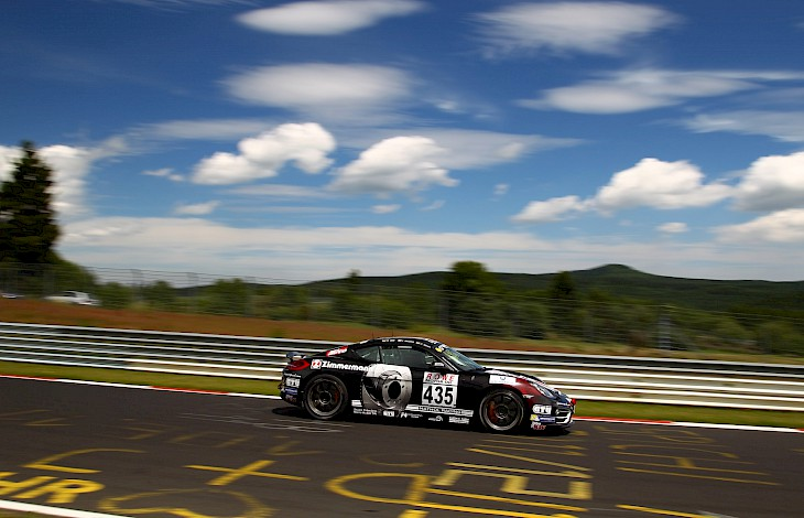 Zimmermann-Porsche on the top in the record heat wave